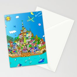 Mont Saint Lapino and Bar Manos Stationery Cards