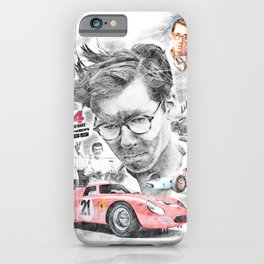 Masten Gregory iPhone Case