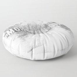 Mountain Girl Floor Pillow