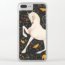 The Steed Clear iPhone Case