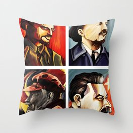 Ghosts of communism 2 Throw Pillow
