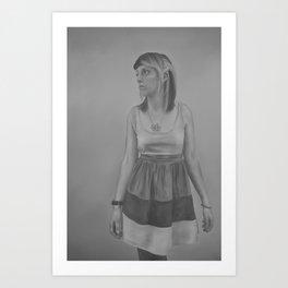 Fran Art Print