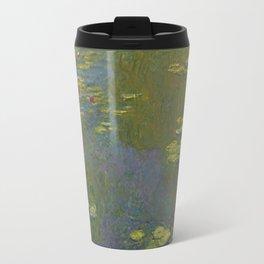 Claude Monet - Water Lily Pond 1919 Travel Mug