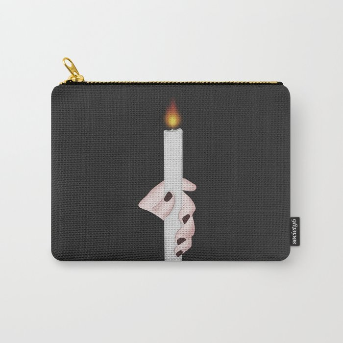 Your Candle Into the Darkness Carry-All Pouch