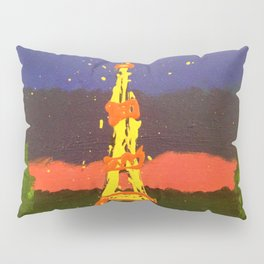 Paris In Abstract Pillow Sham