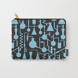 Seamless science lab pattern Carry-All Pouch