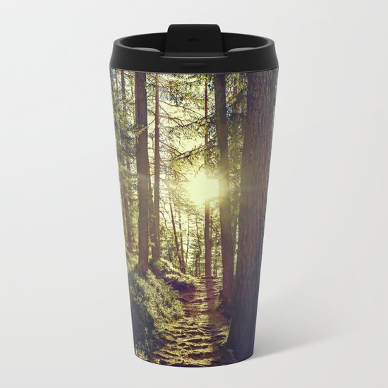 Hidden trail Metal Travel Mug