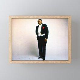 """Antoine """"Fats"""" Domino Jr. - Society6 Fine Art Music Photography Online C44 Framed Mini Art Print"""