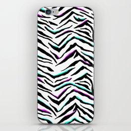 Zazzy Zebra Animal Print iPhone Skin