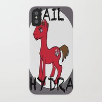 hydra iPhone & iPod Cases featuring HYDRA Pony by Tiff