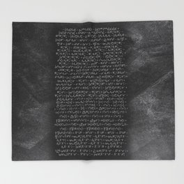 the Closest Thing We Have to a Master Equation of the Universe Throw Blanket