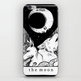 XVIII The Moon iPhone Skin