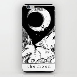 XVIII The Moon iPhone Skin
