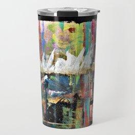Colorful Bohemian Abstract 3 Travel Mug