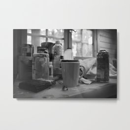Brush to Go, 2010 Metal Print