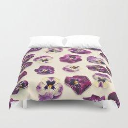 Violas  Duvet Cover