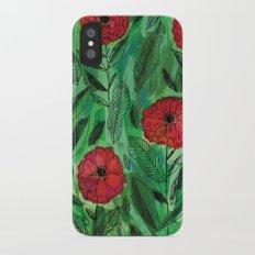 Zinnias Slim Case iPhone X
