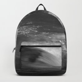 Never stop flowing.... Mountain river Backpack