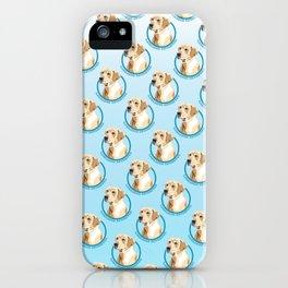 Labrador Retriever Print iPhone Case