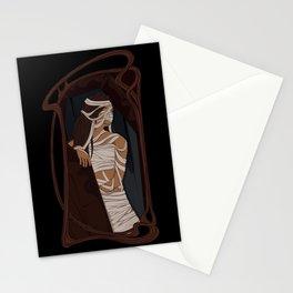 oversleep mummy Stationery Cards