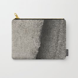 NOIR ABSTRACT / Sand Carry-All Pouch