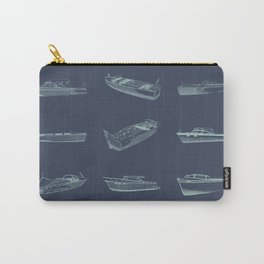 Wood Boats - Lake Life - Susanne Johnson Art Carry-All Pouch