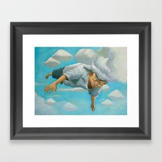 Mind Flight Framed Art Print