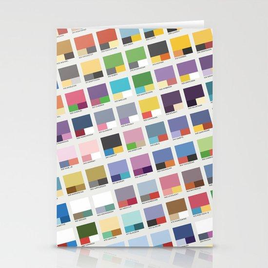 Poke-Pantone 4 (Sinnoh Region) Stationery Cards