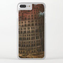 Pieter Bruegel The Elder - The Tower Of Babelcirca Clear iPhone Case