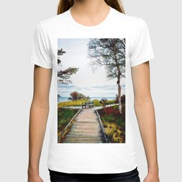 Lone Bench 1 T-shirt