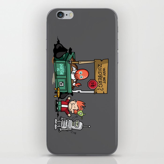 The Doctor is In.... Why not Zoidberg? iPhone Skin