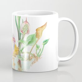 The duck in a pond Coffee Mug