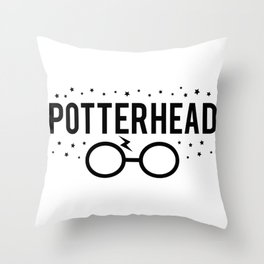 Potterhead Throw Pillow