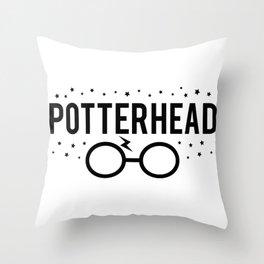 Potterhead Throw Pillow