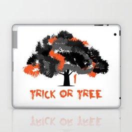 Trick or tree (B+O) Laptop & iPad Skin