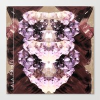 minerals Canvas Prints featuring Mira Minerals by lalaprints