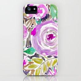 Jakarta Bouquet Floral iPhone Case