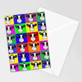 Cows in Color Stationery Cards