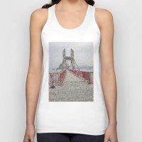 bridge Tank Tops featuring Bridge by Mr and Mrs Quirynen