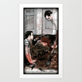 Lessons - Illustration Art Print