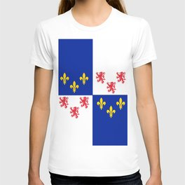 historic flag of picardie T-shirt