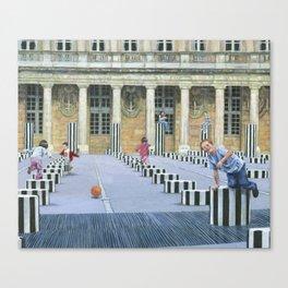 Palais Royal Canvas Print