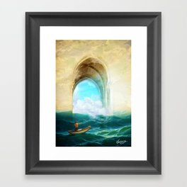 The Veil of Mists Framed Art Print