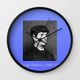 Marcel baschet -Portrait of Debussy Wall Clock