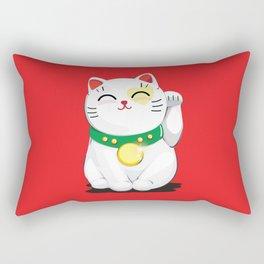 My Lucky Cat Rectangular Pillow