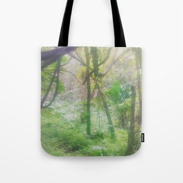 Hike Through the Haze Tote Bag