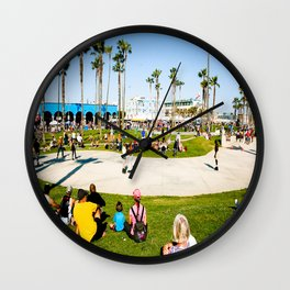 Venice Beach Wall Clock