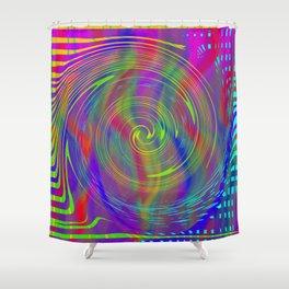 Colour bytes Shower Curtain