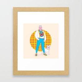 Henry the Hip Framed Art Print