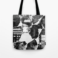 concrete Tote Bags featuring Concrete by Carli